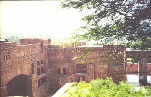 Dormitory Cluster. Children's Retreat, New Delhi, India. 1996.