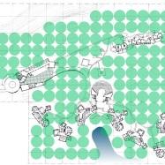 Site Plan. Children's Retreat, New Delhi, India. 1996.