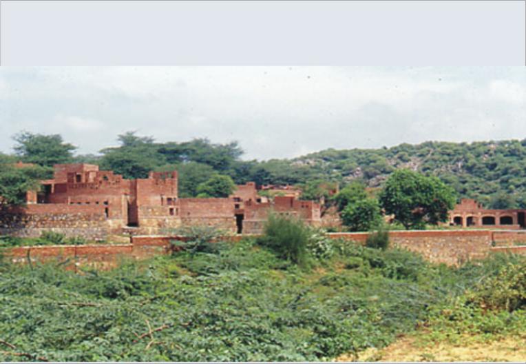Overview. Children's Retreat, New Delhi, India. 1996.
