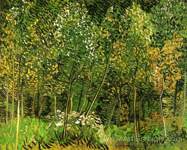 Vincent Van Gogh. The Grove. 1890. Oil on Canvas.