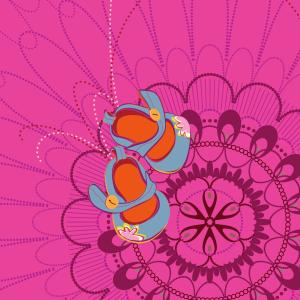 Aditi Raychoudhury. Waiting. 2010. Adobe Illustrator CS5.