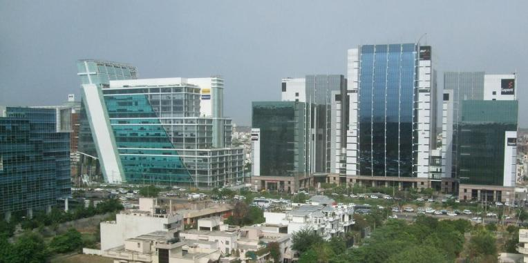 Gurgaon. Source:http://imageshack.us/photo/my-images/29/gurgaon2reid.jpg/