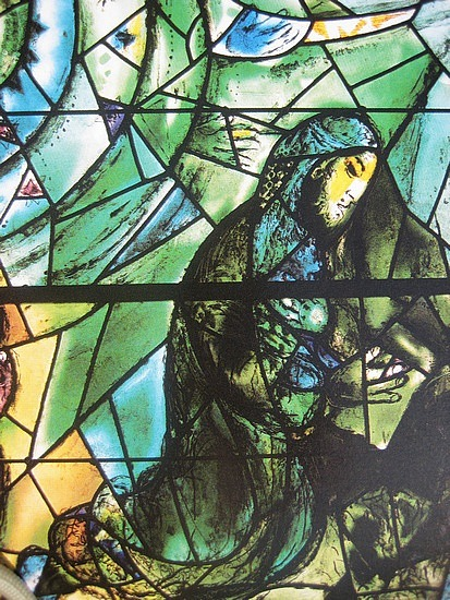 Marc Chagall Window, Union Church, Pocantico Hills, NY.