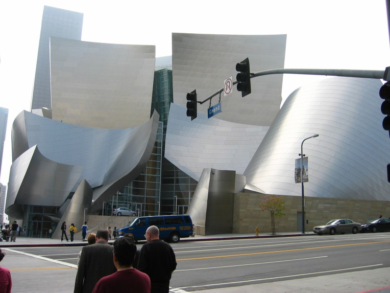Frank Gehry. Disney Concert Hall, Los Angeles. 2003. Photo Credit: Aditi Raychoudhury.