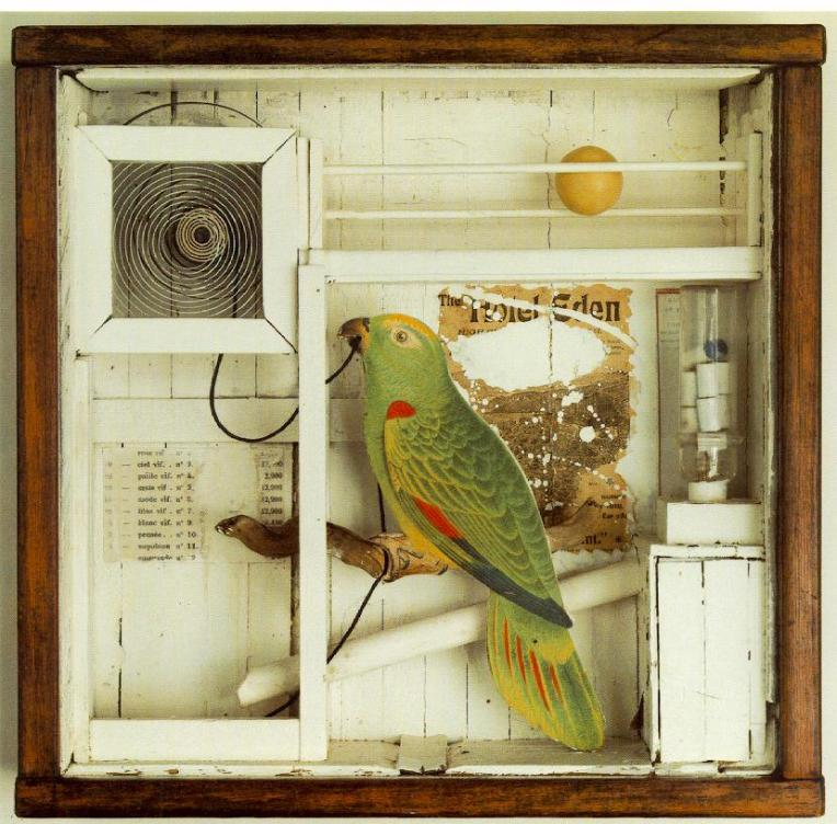 Joseph Cornell. Untitled (The Hotel Eden). 1945.