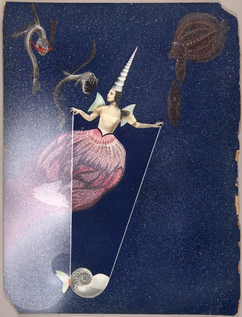 Joseph Cornell. Untitled (Celestial Fantasy with Tamara Toumanova). Early 1940s.