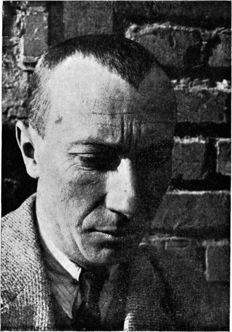Hans Arp. 1886-1966. Photo Credit: From De Stijl, vol. 7, nr. 73/74 (January 1926).