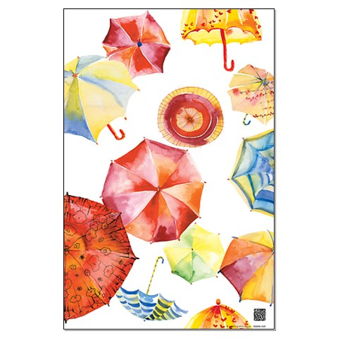 Masha D'Yans. Umbrellas.