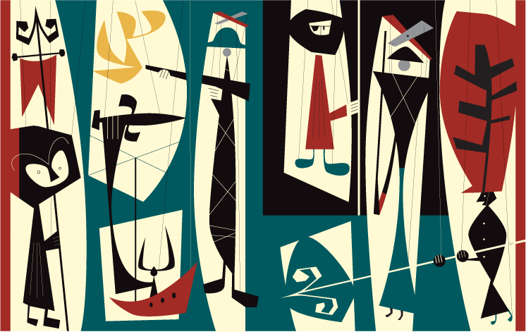 Michael Bartalos. Marionettes.