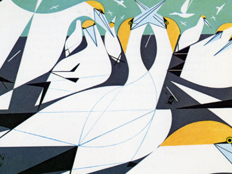 Charley Harper. Giant Golden.