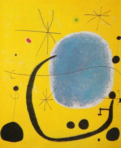 Joan Miro. L'Oro dell'Azzurro. 1935.
