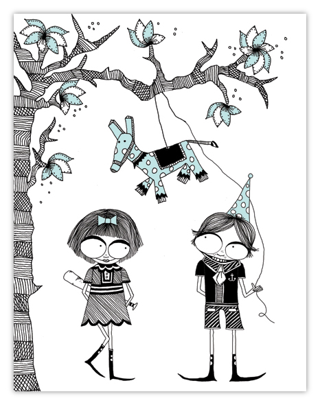 Carrie Gifford. Pinata Party.