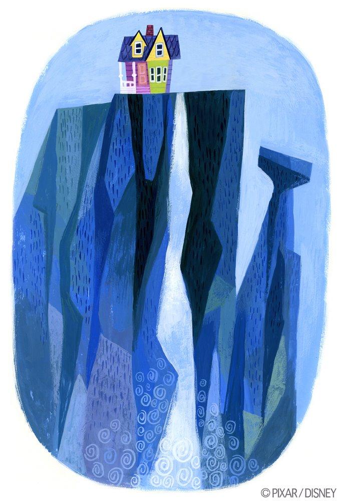 Lou Romano. Ellie's Mural. 2005-2008. Gouache.