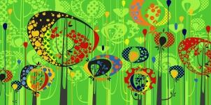 Aditi Raychoudhury. The Land of Plenty. 2009. Adobe Illustrator CS.