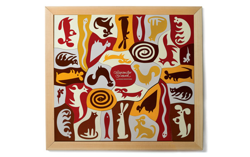 Alexander Girard. Puzzle. Wood and Paint.