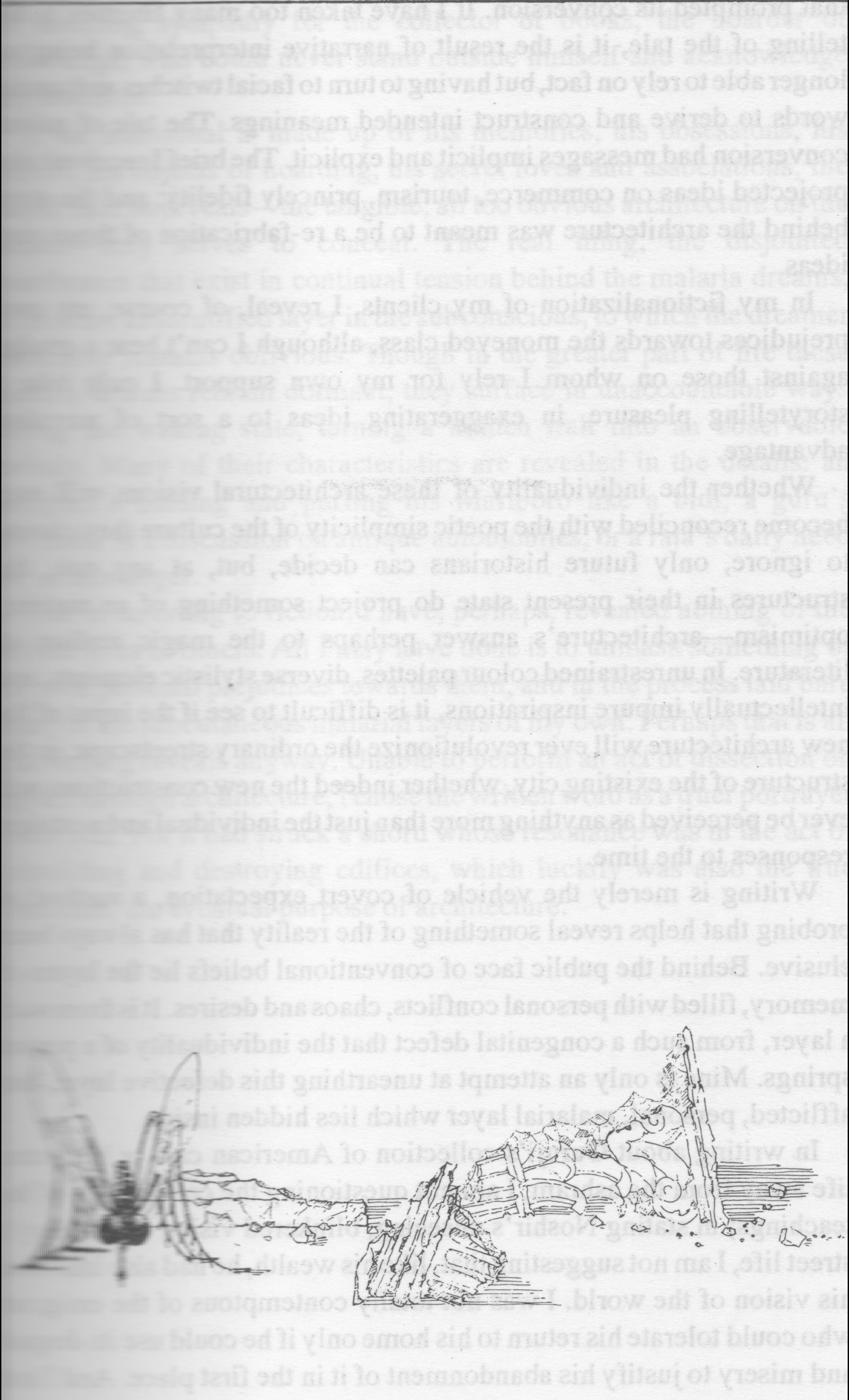 Malaria Dreams. 1995. Pen and Ink.