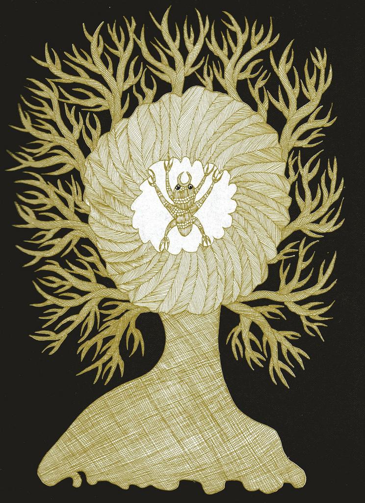 Tara books. Silkworm Tree (From The Nightlife of Trees). 2006.