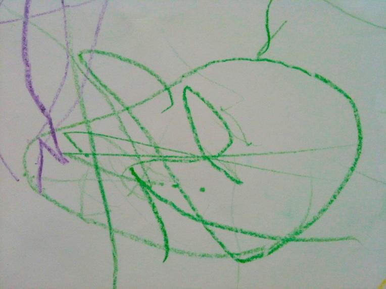 Inika Moni RayMukerji. Pig. 2013. Crayons on Paper