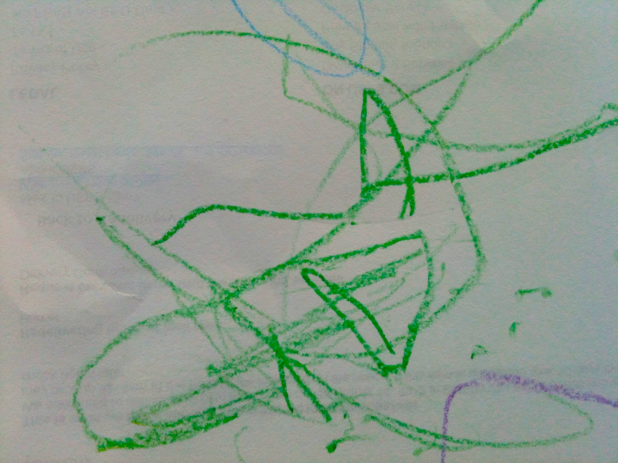 Inika Moni RayMukerji. Plane. 2013. Crayons on Paper