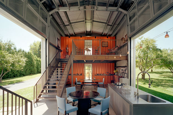 Container Home. Source:http://my99post.blogspot.com.au/2014/05/a-shipping-container-costs-about-2000.html