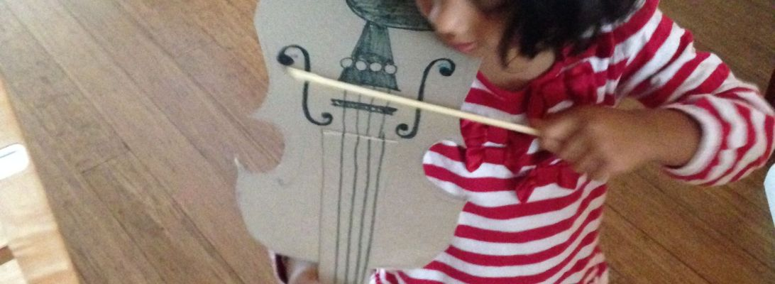 Diy lunaspace aditi raychouhdury diy violin 2014 cereal box super glue markers ccuart Image collections