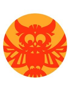 Aditi Raychoudhury. Owl Pumpkin Carving Guide. 2014. Adobe Illustrator.