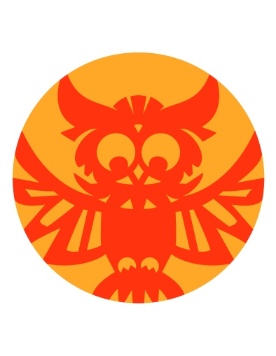 Aditi Raychoudhury. Owl Pumpkin Carving Guide. 2014. Adobe Illustrator.