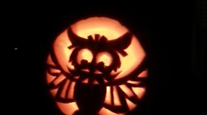 Smita Gupta. Owl Pumpkin. 2014