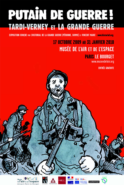 Jacques Tardi. Putain de Guerre! Casterman, 2008