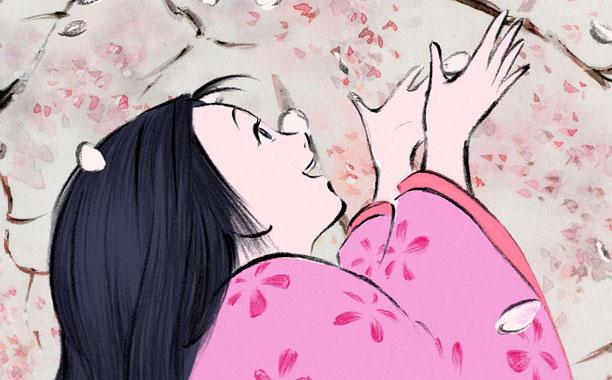 Isao Takahata for Studio Ghibli. The Tale of Princess Kaguya. 2014.