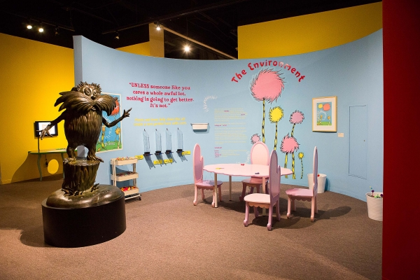 The Lorax Room. Ingenious! The World of Dr. Seuss. 2014. San Diego History Center.