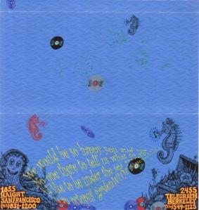 Aditi Raychoudhury. Gift Certificate Envelope (Inside). Photoshop. 2002