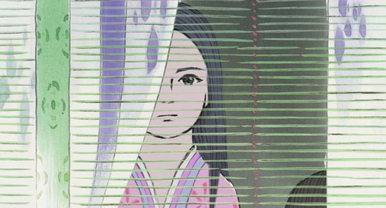 Isao Takahata for Studio Ghibli. Princess Kaguya. Animation.