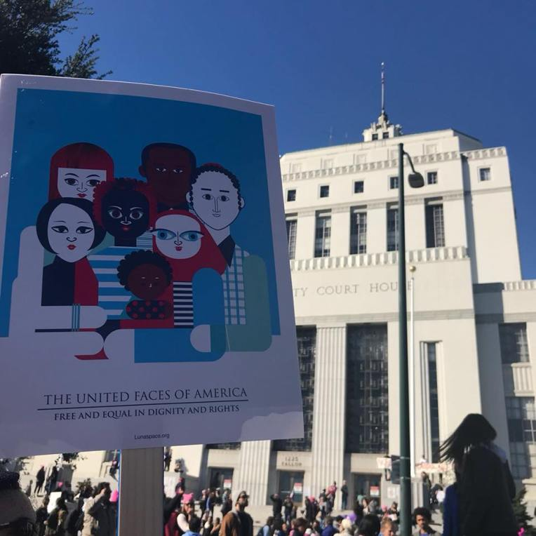 Oakland Women's March 2018.
