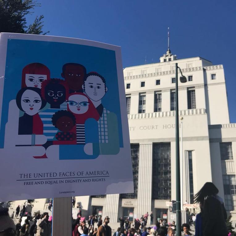 Oakland Women's March 2018.