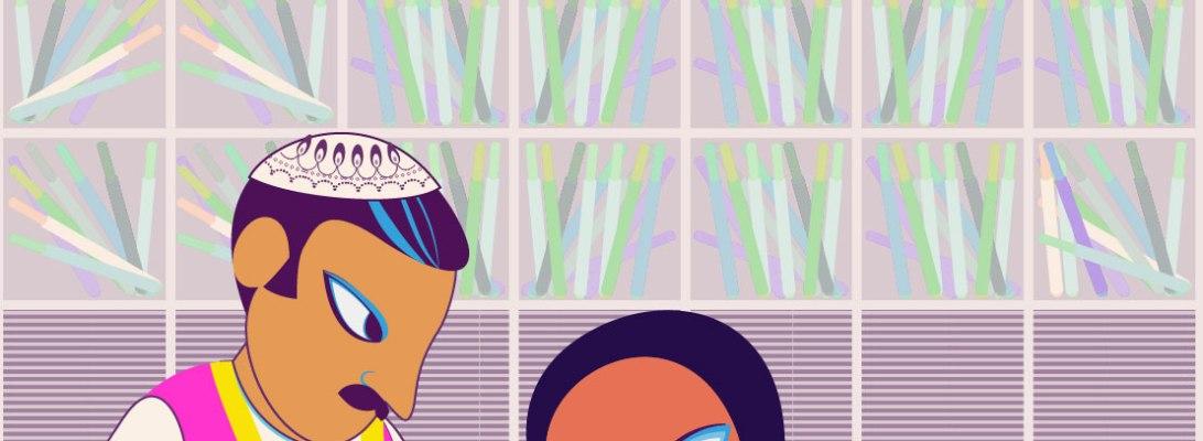 Aditi Raychoudhury. Id Mubarak. 2021. Adobe Illustrator